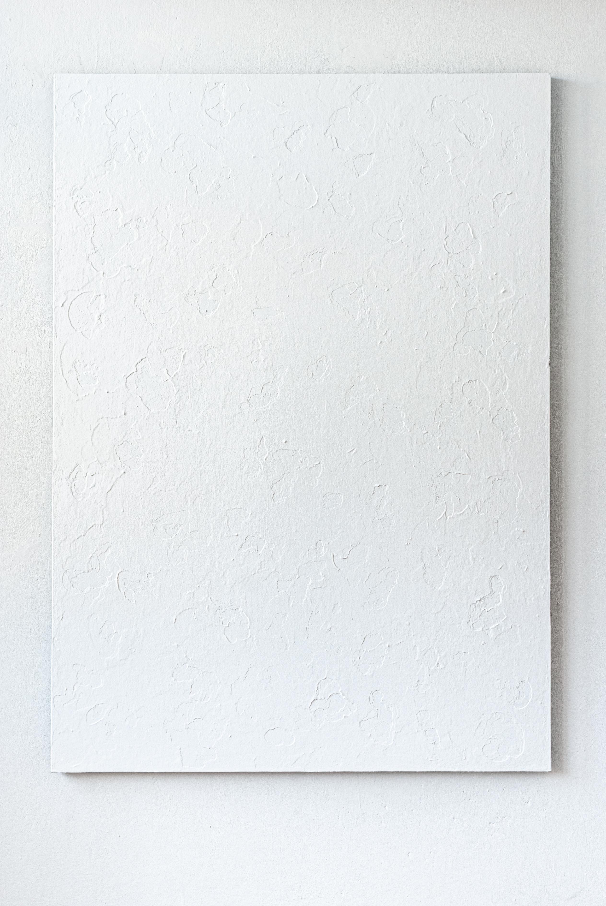 Małgorzata Pawlak, Kawałek czasu 4, 2019, 140x100, akryl na hdf