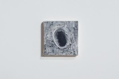0 Małgorzata Pawlak, Dziupla 14, 13x13cm,  2020
