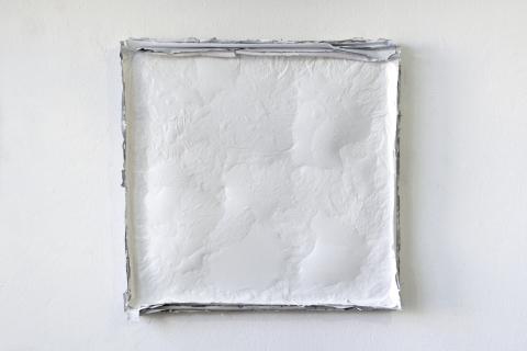 Purchle 2, 2020, 70x70cm, akryl na płótnie