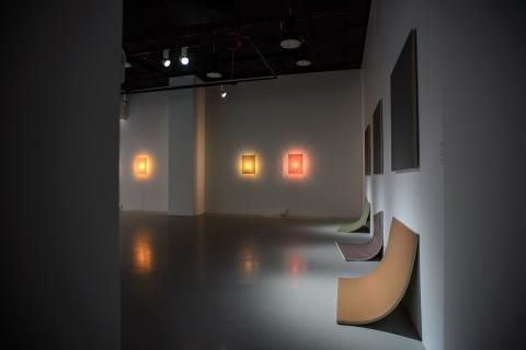 Wystawa Bez Obrazy, 2017, widok ogólny, fot. W.Pacewicz
