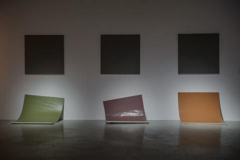 Cienie, 2017, wystawa Bez obrazy, Galeria Labirynt, fot. Wojciech Pacewicz