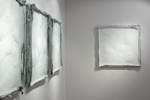 Purchle, widok wystawy Zmiana Czasu, 2020