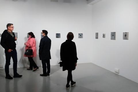 Dziuple, widok wyst. Powiększenie, Galeria Labirynt Lublin, 2020